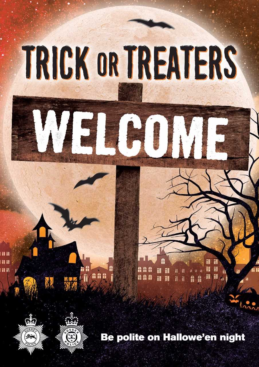 Get Your Free Trick Or Treating Posters To Display This