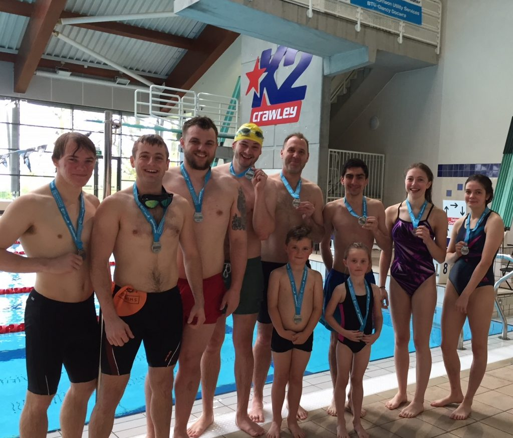 Swimmers 39 Smashed Their Targets 39 At K2 Crawley 39 S Swimathon Crawley News 24