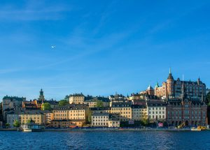 Stockholm, capital of Sweden, and the world's largest furniture store.