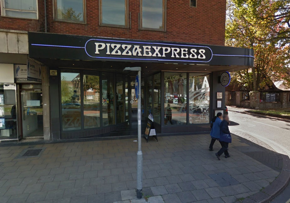 Nervous Wait For Pizza Express In Crawley As Firm Prepares