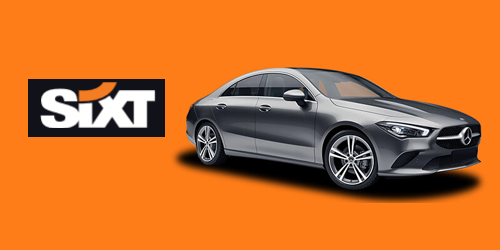 Sixt one of the Top Car Rental From Gatwick Airport